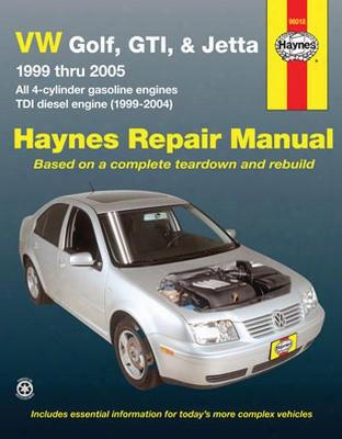 Vw Golf Gti & Jetta Haynes Repair Manual 1999-2005
