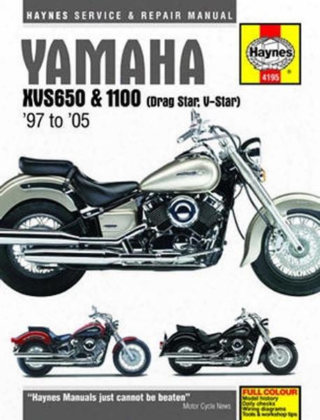 Yamaha Xvs650 & 1100 Haynes Repair Manual 1997-2005