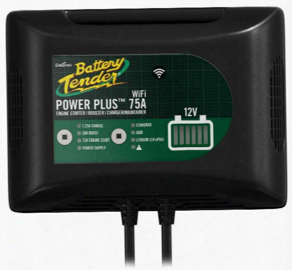12v Power Plus 75a Booster Battery Charger With Wifi