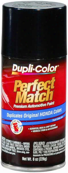 Acura/honda Vehicles Nighthawk Black Pearl Auto Spray Paint - B92p 1999-2009