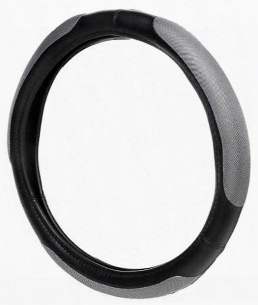 Black Platinum Grip Steering Wheel Cover