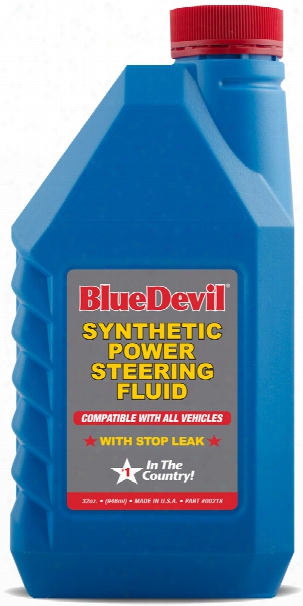 Blue Devil Synthetic Power Steering Fluid 32 Oz