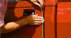 Chrome Stick-on Door Edge Molding