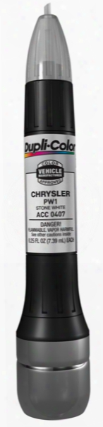 Chrysler & Mitsubishi Stone White All-in-1 Scratch Fix Pen - Pw1 1996-2013