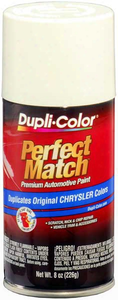 Chrysler - Dodge - Jeep - Mitsubishi Stone White Auto Spray Paint-pw1 1996-2013