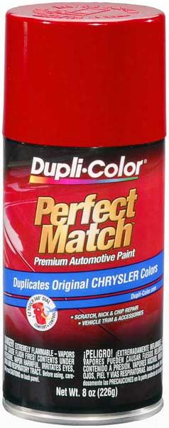 Chrysler - Dodge - Jeep Radiant Fire Auto Spray Paint - Prb R87 1990-2005