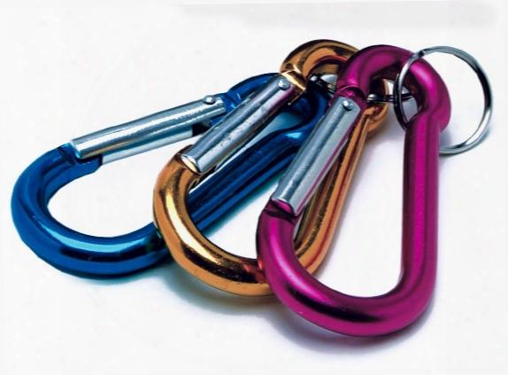 D-clip Keychain