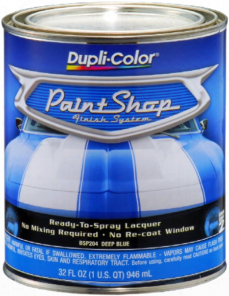 Dupli-color Paint Shop Deep Blue Metallic 32 Oz.