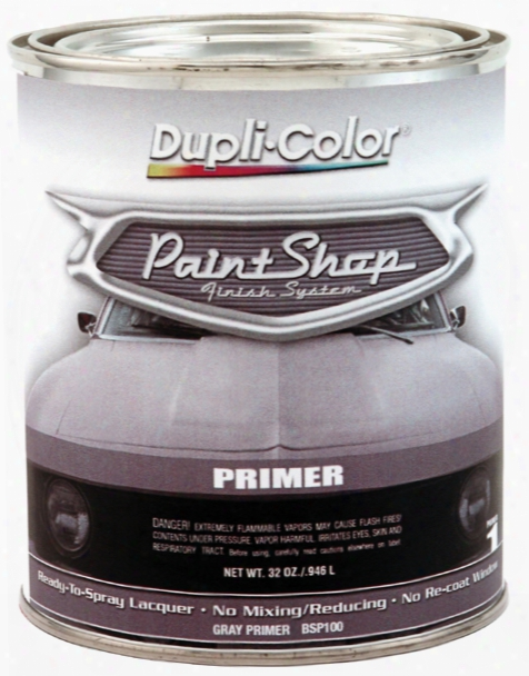 Dupli-color Paint Shop Gray Primer 32 Oz.