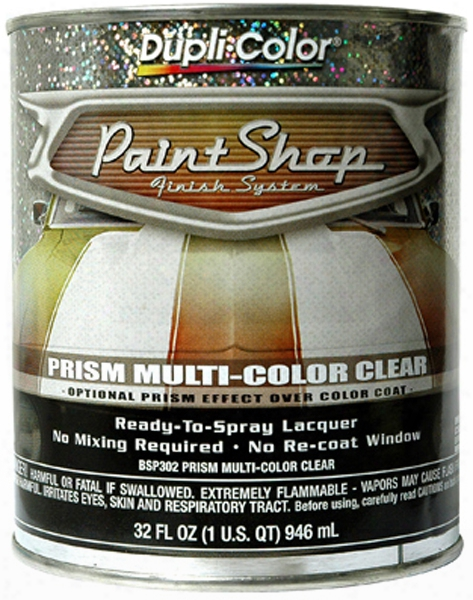 Dupli-color Paint Shop Prism Multi-color Clear Coat 32 Oz.