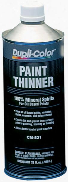 Dupli-color Premium Paint Thinner Quart