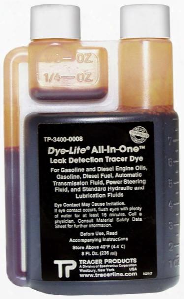 Dye-lite All-in-one Oil Based Uv Dye - 8 Oz.