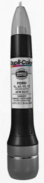 Ford & Mazda Oxford White All-in-1 Scratch Fix Pen - 9l A9 Yo Yz 1983-2016