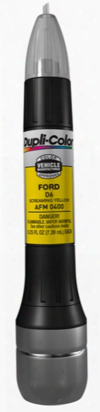 Ford & Mazda Screaming Yellow All-in-1 Scratch Fix Pen - D6 2004-2007