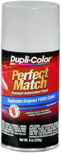 Ford Lincoln & Mazda Oxford White Auto Spray Paint - 9l A9 Y0 Yz 1983-2014