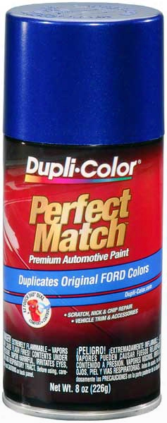 Ford Lincoln & Mazda Sonic Blue Pearl Auto Spray Paint - Sn 2002-2012