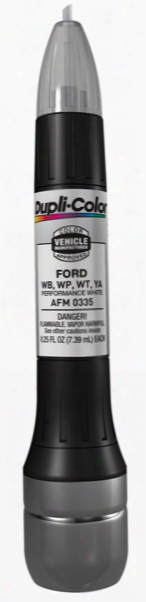 Ford Performance White All-in-1 Scratch Fix Pen - Wb Wp Ya Wt 1993-2011