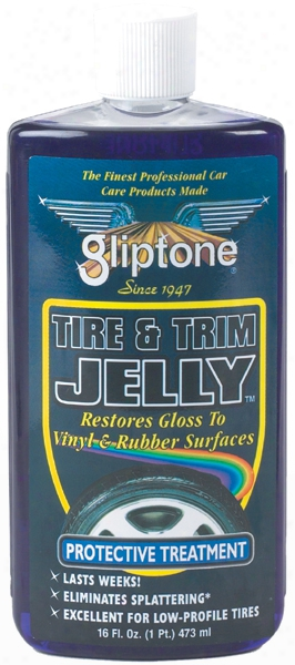 Gliptone Tire And Trim Jelly 16 Oz