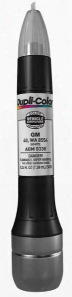 Gm & Saturn White All-in-1 Scratch Fix Pen - 40 8554 1991-2016