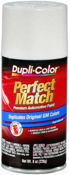 Gm & Saturn White Auto Spray Paint - 40 1984-2014