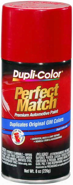 Gm Hummer & Saturn Victory Red Auto Spray Paint - 74 1991-2014
