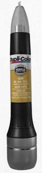 Gm Metallic Sandalwood All-in-1 Scratch Fix Pen - 58 711j 2002-2006