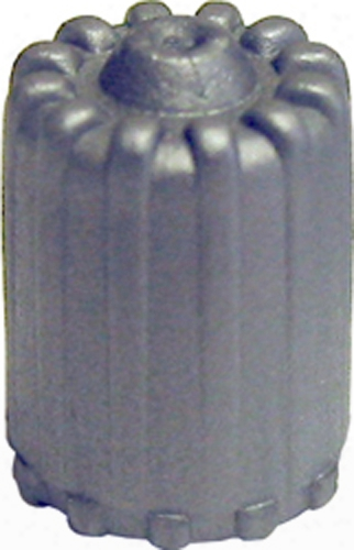 Gray Tpms Plastic Valve Caps With Seal Box Of 100