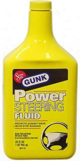 Gunk Power Steering Fluid 32 Oz.