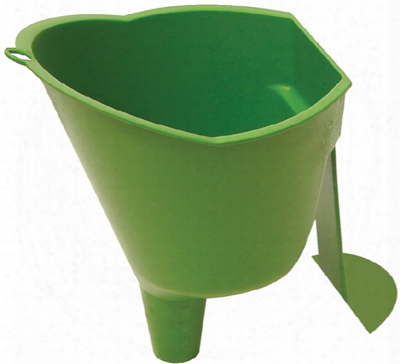 Hands Free Spring Locking Funnel