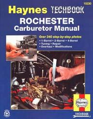Haynes Rochester Carburetor Techbook
