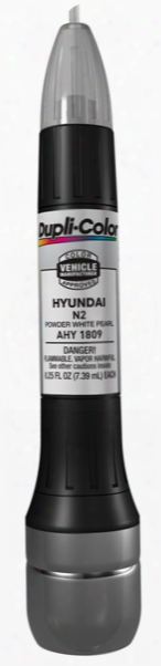 Hyundai Powder White Pearl All-in-1 Scratch Fix Pen - N2 2005-2008