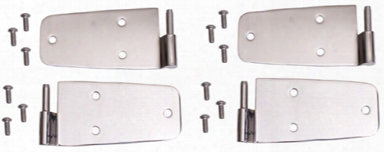 Jeep Wrangler & Cj Stainless Steel Door Hinges 1987-2006