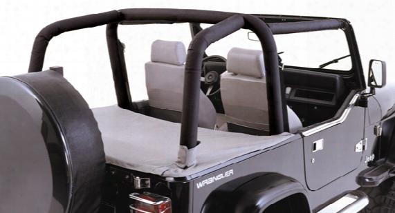 Jeep Wrangler Denim Black Roll Bar Cover Kit 1997-2002