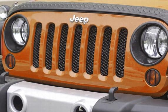 Jeep Wrangler Jk Mesh Grille Insert Screen 2007-20 17