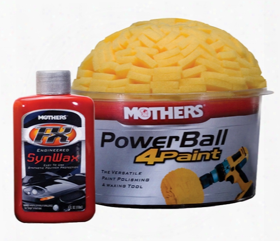Mothers Powerball 4paint Polishing Tool