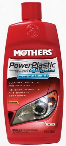 Mothers Powerplastic 4lights Plastic Polish