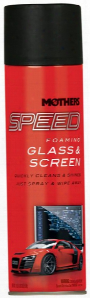 Mothers Speed Glass & Screen Cleaner 19 Oz