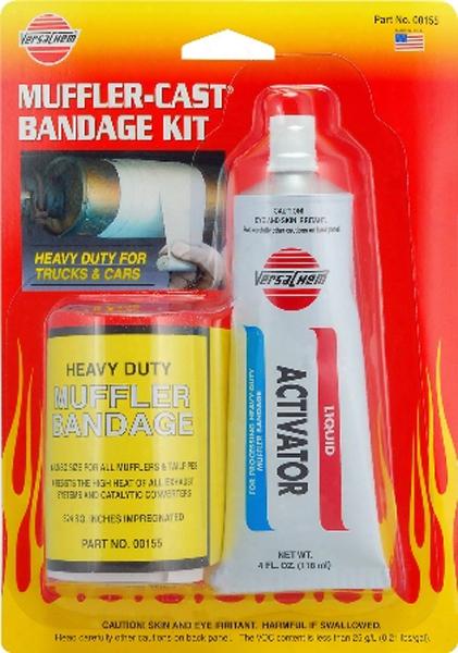 Muffler-cast Bandage Wrap Kit