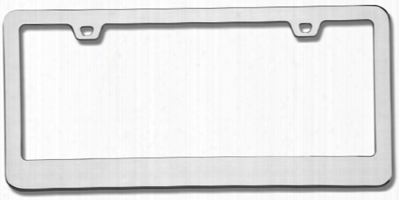 Neo Classic Chrome License Plate Frame