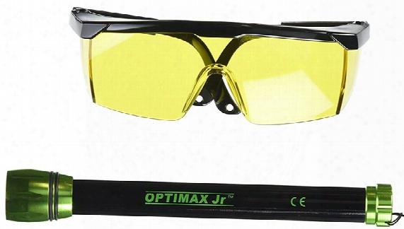 Optimax Jr Cordless Blue Led Leak Detection Flashlight