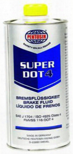 Pentosin Super Dot4 Brake Fluid 500 Ml