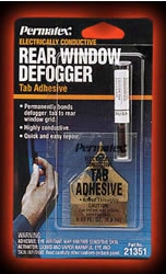 Permatex Electrically Conductive Rear Window Defogger Tab Adhesive