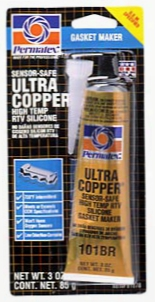 Permatex High-temp Ultra Copper Rtv Silicone Gasket Maker 3 Oz.