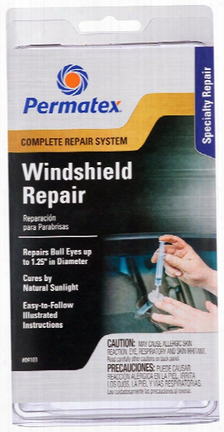 Permatex Professionl Windshield Repair Kit