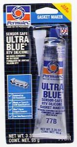 Permatex Ultra Blue Rtv Silicone Gasket Maker 3 Oz.