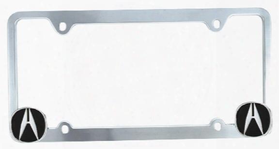 Pilot Chrome Acura Logo License Plate Frame