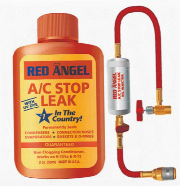 Red Angel A/c Stop Leak & Injector Kit