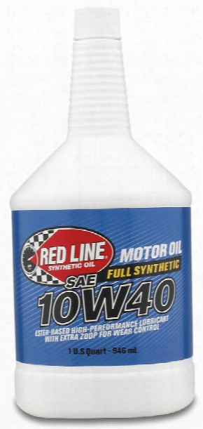 Red Line 10w40 Synthetic Motor Oil 1 Qt.
