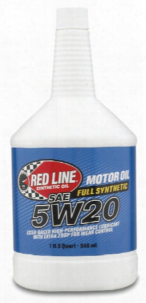 Red Line 5w20 Synthetic Motor Oil 1 Qt.
