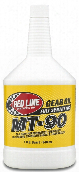Red Line Mt-90 75w90 Synthetic Manual Transmission Ooil 1 Qt.